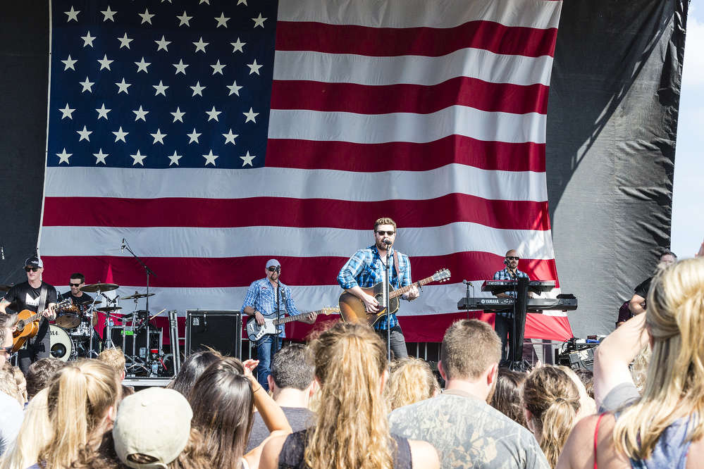 The festival, headlined by Chris Young on Labor Day 2016, raised $10,000 for Team Rubicon through its outreach efforts and donations.