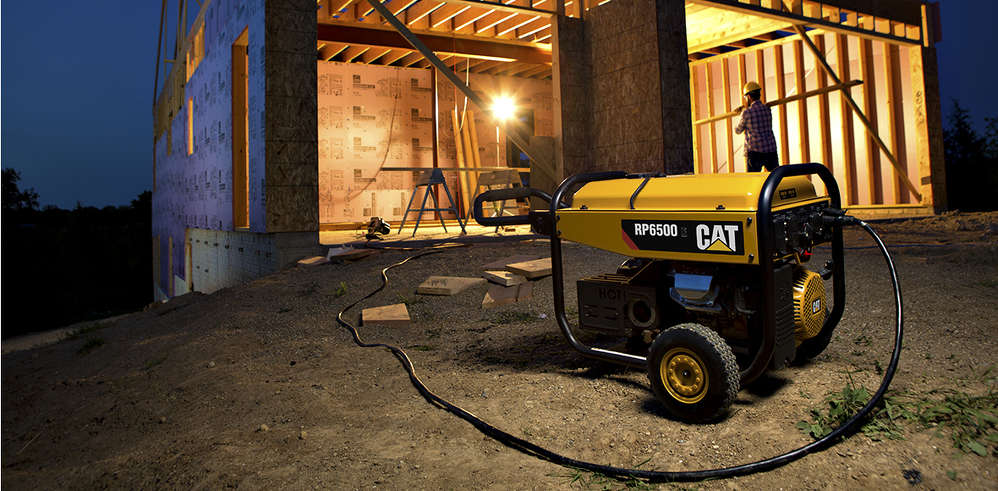 The new generators are designed to provide reliable backup or recreational power to residential users and portable power to professional contractors who need to power tools and lights on the job.