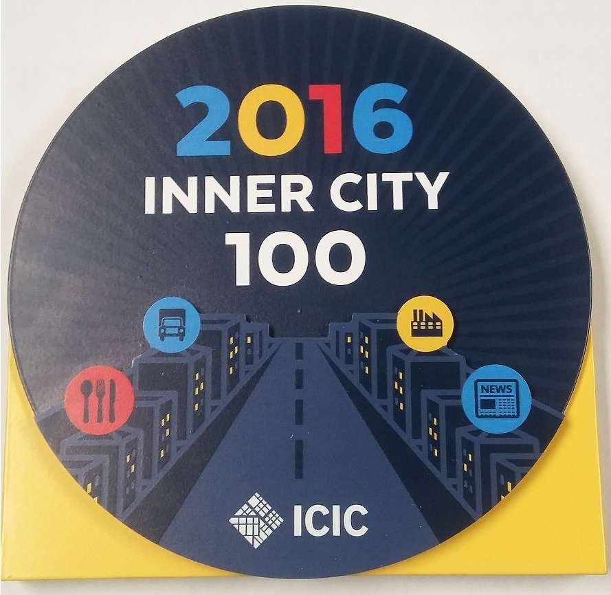 ICIC's and Fortune's Inner City 100 List features high-powered, high-potential businesses from around the country with headquarters in inner cities.