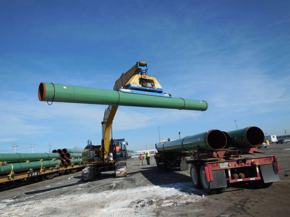 Constitution Pipeline photo. Constitution Pipeline.