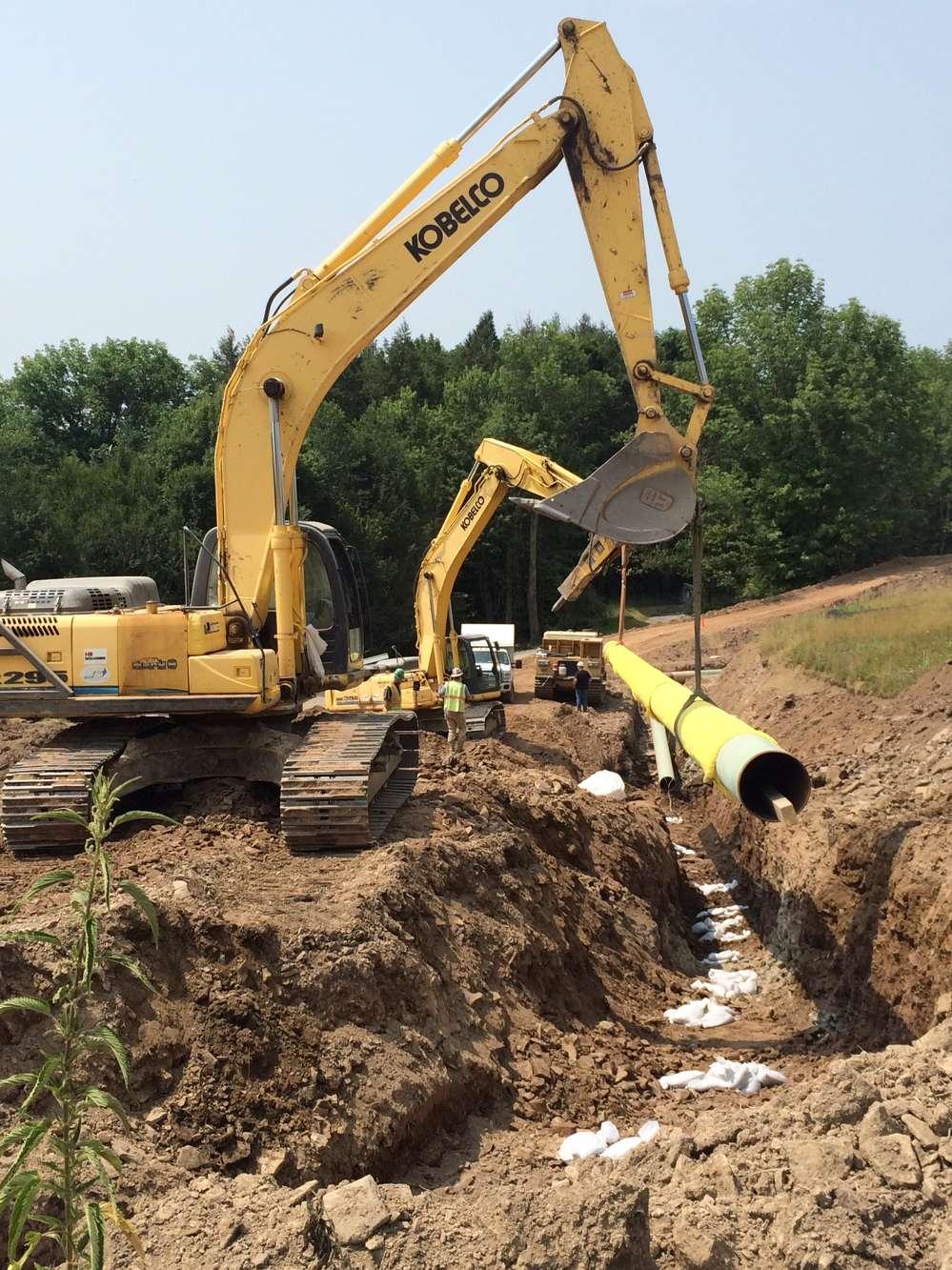 PennEast Pipeline photo.  PennEast Pipeline.