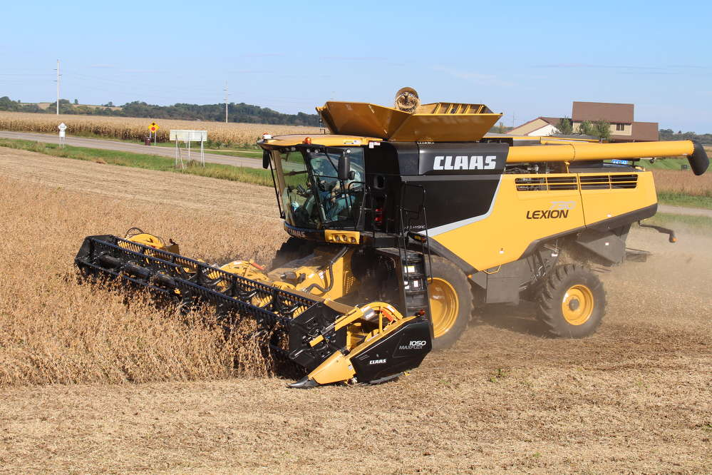 The public is invited to come drive and operate a brand-new Lexion 730 Combine and other tractors during a REAL harvest, but only for a limited time.