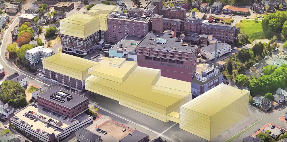 Maine Medical Center announced the next phase in its efforts to modernize its facilities, a collection of building projects costing $512 million.
