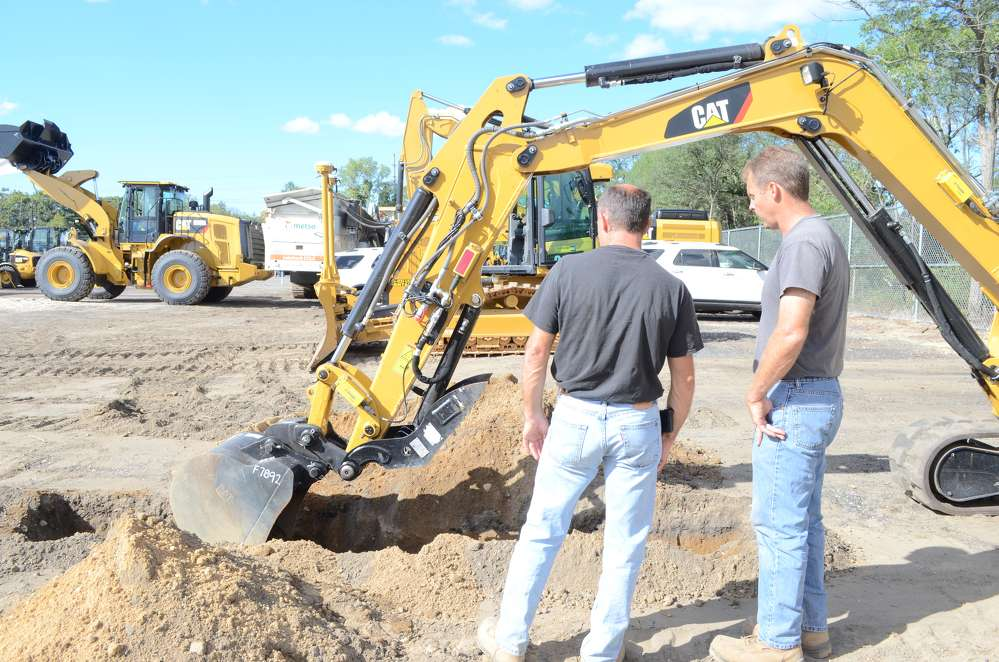 (L-R) are: Mike Bodkin and his brother, Jim, co-owners of Bodkin Excavating.