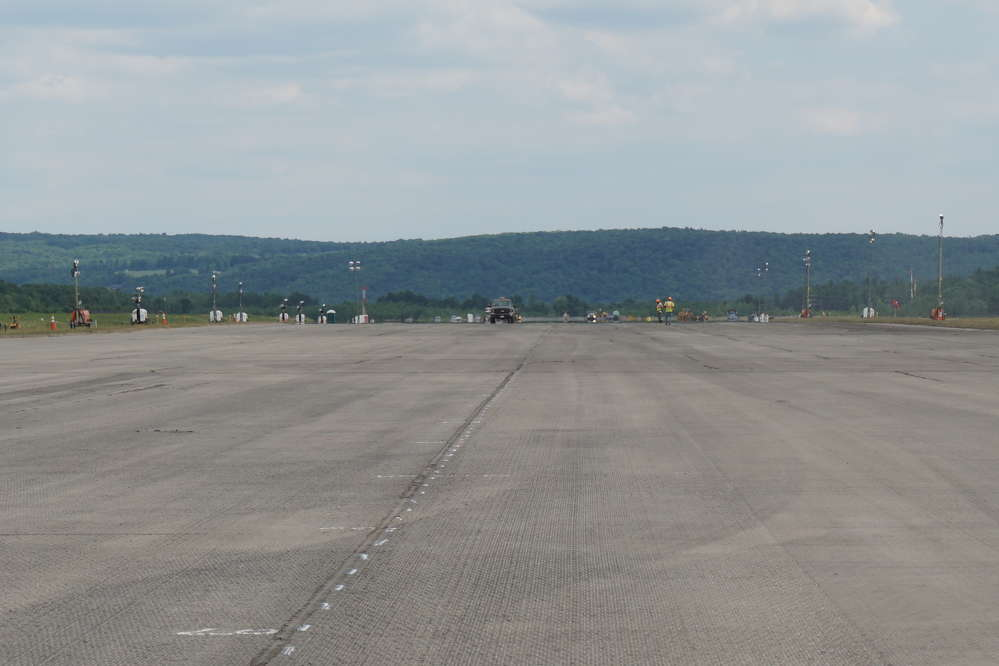 After 22 years, the Ithaca-Thompkins runway was in need of a complete resurfacing.