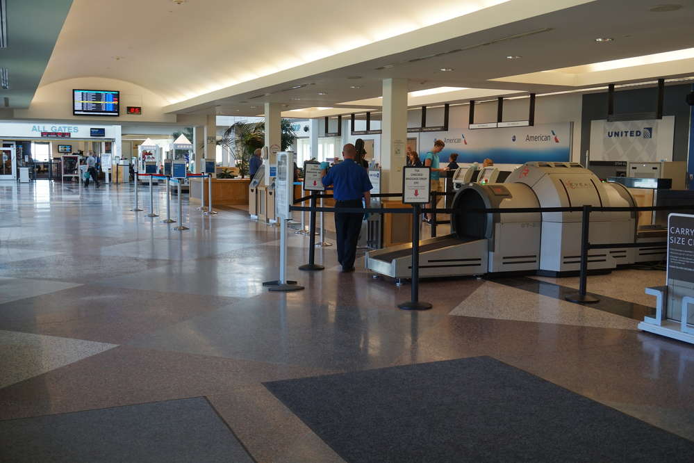 The small but busy airport serves several major passenger airlines, planes for shippers FedEx and UPS, as well as many private business aircraft and recreational flyers.