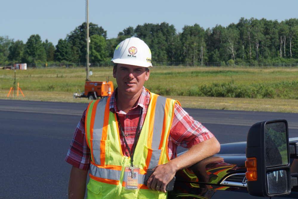 Suite-Kote Project Supervisor Tim Carr.