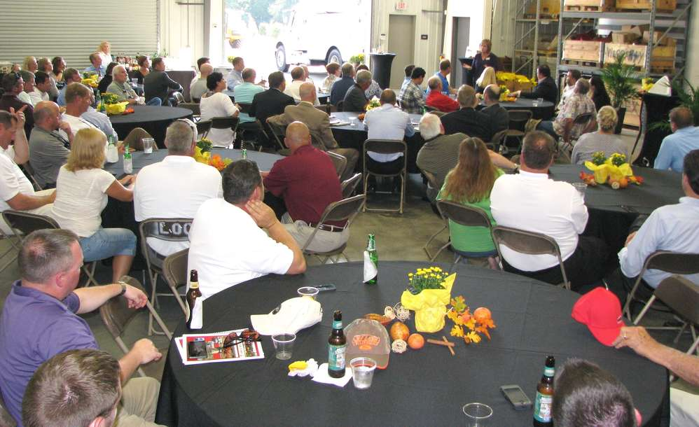 Dealers, guests, local dignitaries and Hydrema staffers all came together to be a part of the official opening of the facility.
