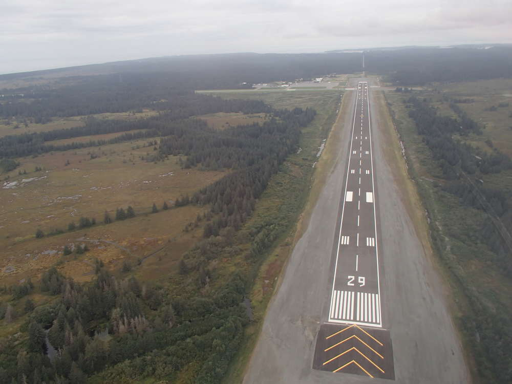 The Yakutat Airport project required 62,000 tons (56,245.5 t) of HMA, making it the biggest paving project in Alaska for 2016.