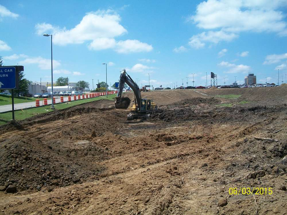 The Akron-Canton Airport's $11.6 million Entrance Road reconstruction project, was awarded to Northstar Asphalt Inc.