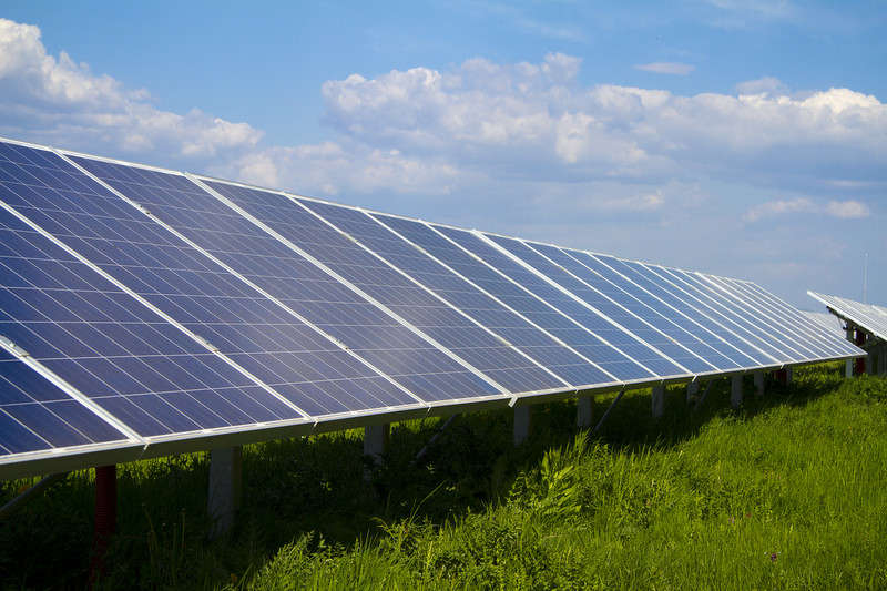 It is the first utility-scale solar project in the state and could lead to other projects, according to state Public Utilities Commissioner Chris Nelson.
