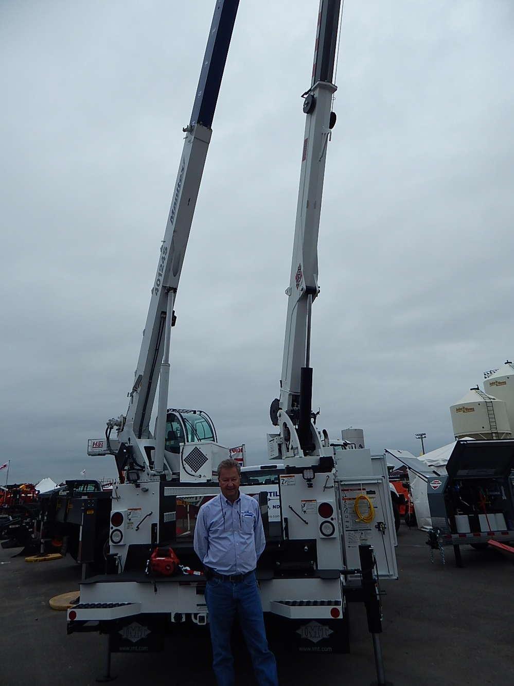 Curt Bye, salesman, Truck Utilities, Fargo N.D.,