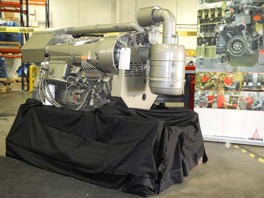 The 914 L06 engine, delivered from DEUTZ Xchange in Pendergrass, Ga., undergoes a 300-point reconditioning process, which includes all of the latest advancements.