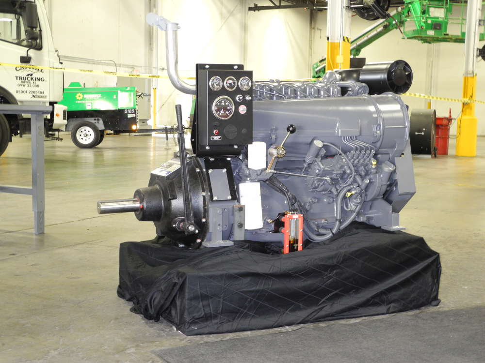 The D 914 irrigation package comes fully assembled from DEUTZ Power Center Midwest, in Kansas City.