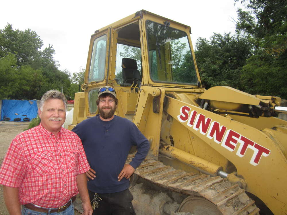 Scott Sinnett (L) and Scott Sinnett II.