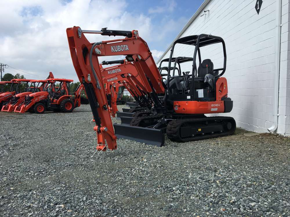The company began representing Kubota nearly 40 years ago when it sold a compact tractor.  Today, the company offers the full Kubota product line.