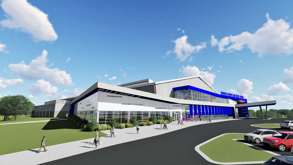 Goodwyn, Mills and Cawood rendering. 