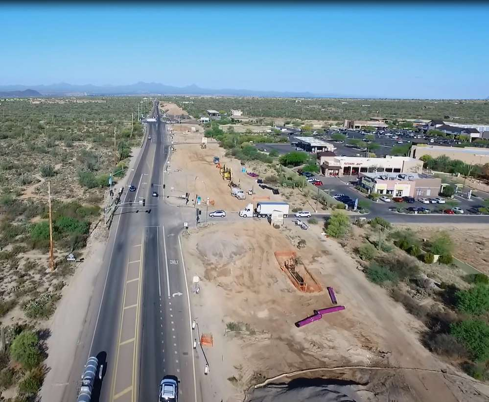 Tom Houle, Town of Marana photo. Improvements will reduce congestion and travel times.