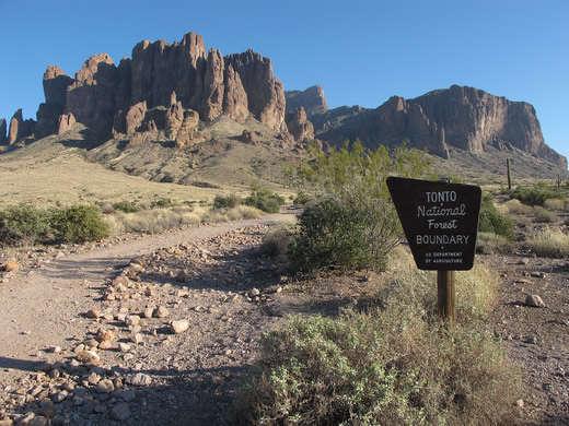 Tonto National Forest, Superior, Ariz.