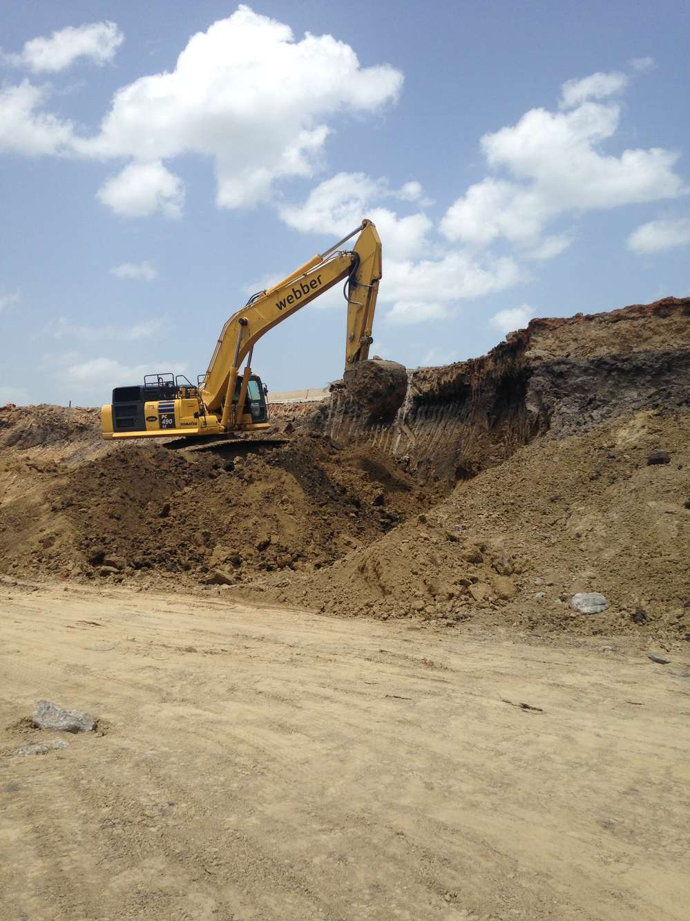 Webber LLC photo.  The projects are known as I-45 North, I-45 South and SH 31 Relief Route.