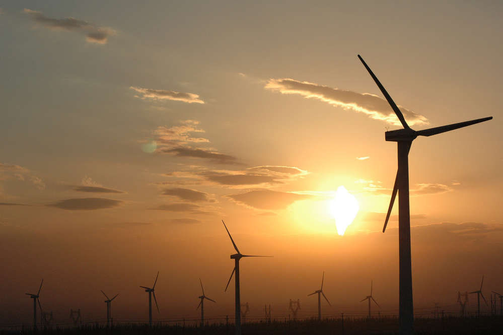GE Energy Financial Services has committed to invest approximately $9.5 billion in wind energy projects that generate more than sixteen gigawatts of power globally.