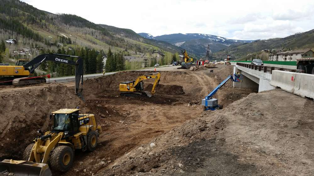 Colorado Department of Transportation photo. Construction of the project started in April of this year and is scheduled to conclude in December 2017.