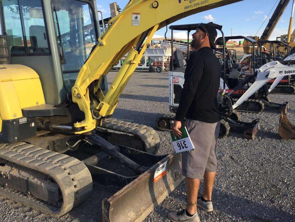 Jake Burton, owner of Burton Development, California, is looking for skid steers and