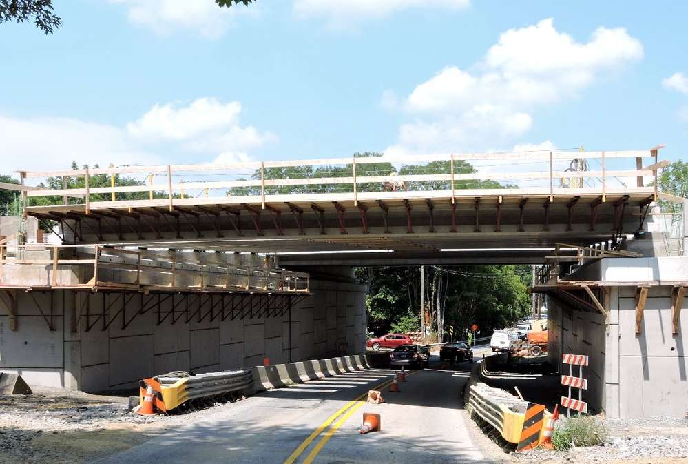PennDOT photo. The improvement of U.S. 202 Section 300 has been a priority of Chester County since the 1990s due to stifling traffic congestion and its aging infrastructure.