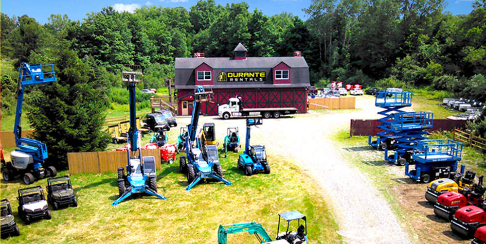 Durante Rentals has been expanding at an unprecedented rate the last three years and this facility is their third new store in the past 12 months.