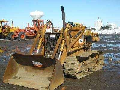 Ritchie Bros. Auctioneers archive photo. Case's 350B crawler loader