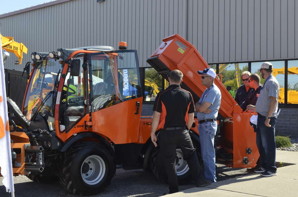 Holder Trucks offer endless possibilities for municipalities. This one is equipped with a boom mower and end dump.