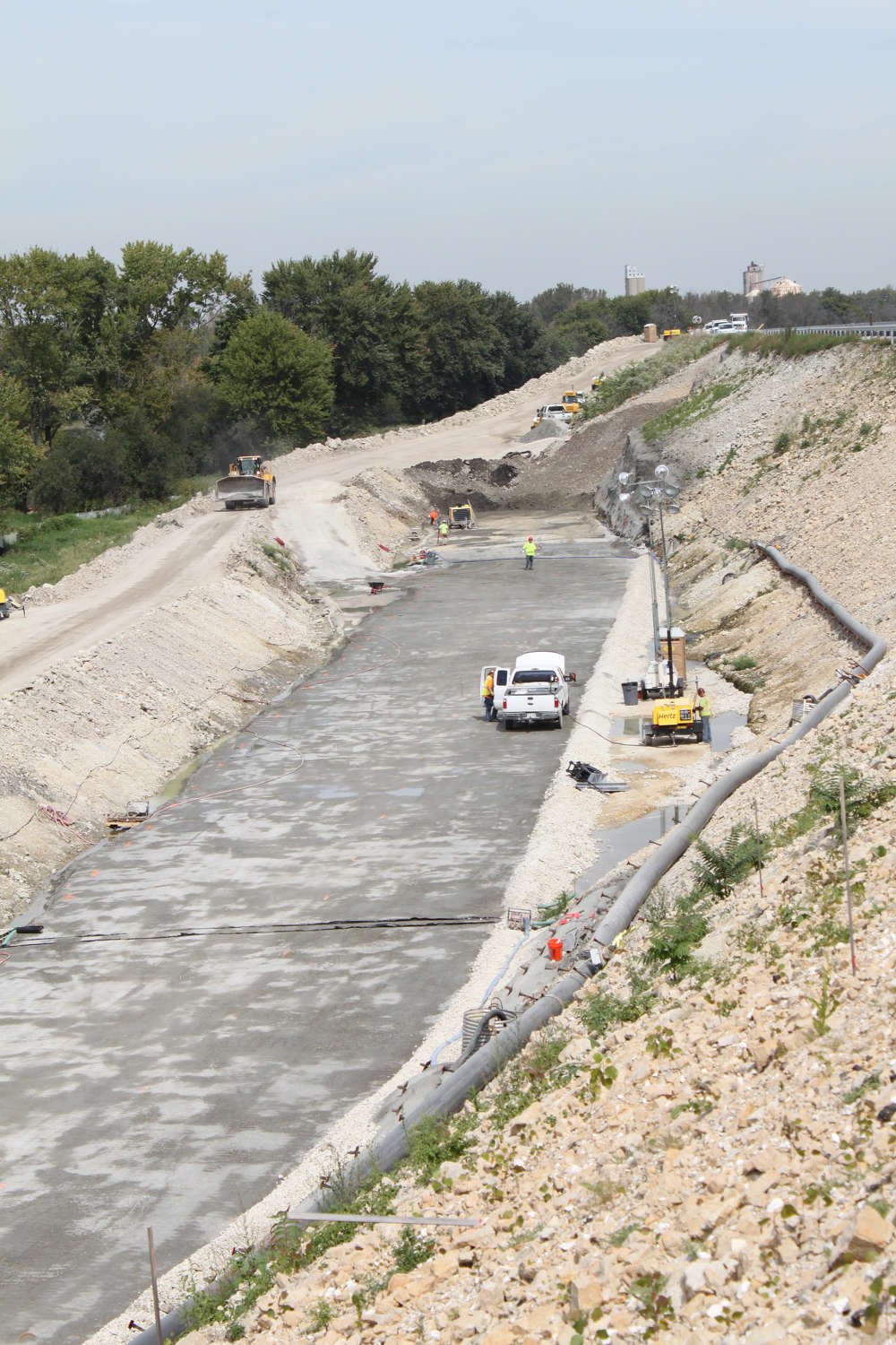 The U.S. Army Corps of Engineers (USACE) $150 million Lockport Lock and Dam, Upper Pool project is nearing completion as crews from ASI Constructors Inc. are working hard to deliver the final phase of the project.