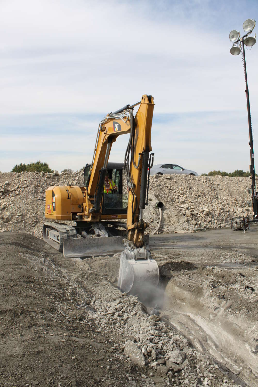 ASI prefers to use as much of its own equipment as possible, and purchases its Cat equipment from Wagner Equipment.