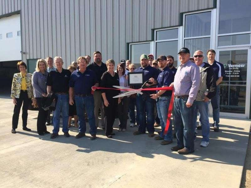 Rick Boat, second generation owner, CEO,  welcomes customers to the company's newest location.