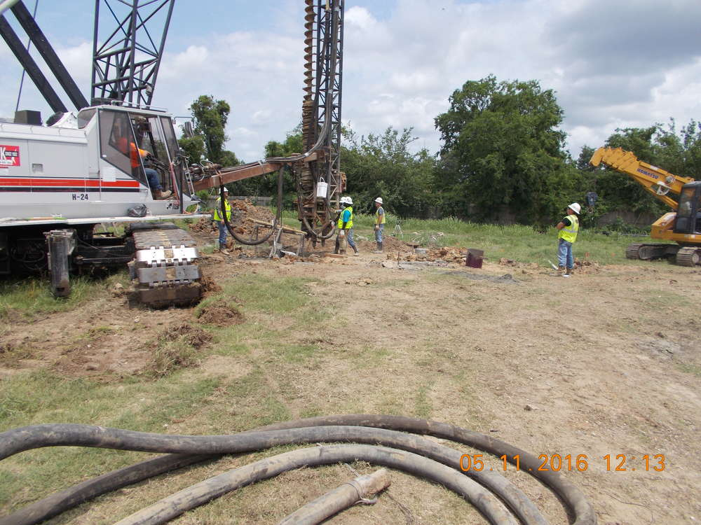 Jared Brown photo Work officially began on a new wastewater treatment plant in April 2016.