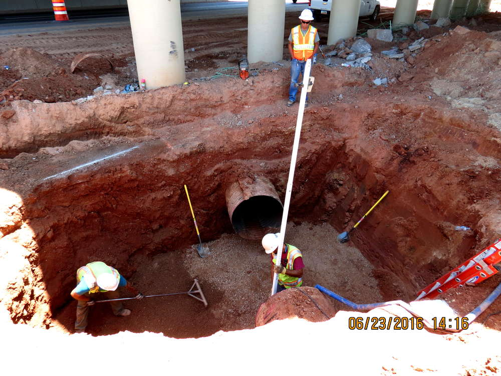 A quick turnaround is planned for the St. George project, with the new lanes and the underpass scheduled to open by Thanksgiving.