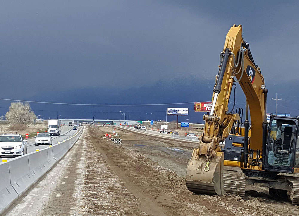 Funding for the northern I-15 project is provided through the State Transportation Improvement Fund.