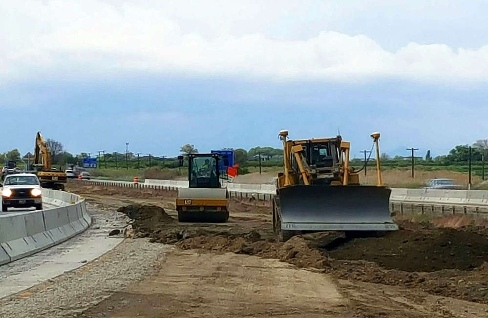 Work on the Farr West-Brigham City project began in March and is scheduled to conclude this fall.