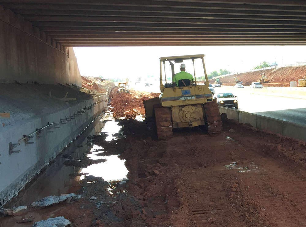 The first of several phases to completely reconstruct the I-35/I-240 Crossroads Interchange has begun in south Oklahoma City under the Oklahoma Department of Transportation (ODOT).