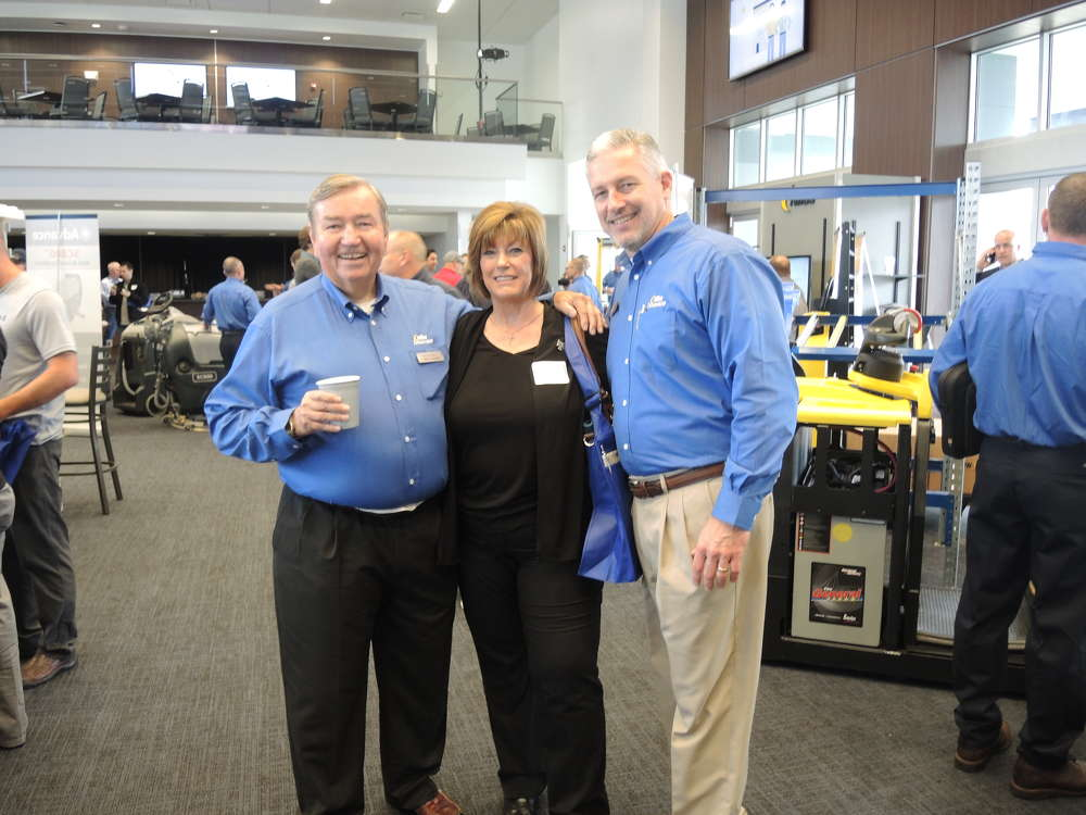 (L-R) are Steve O'Leary, NITCO president; Mary Romeo, Mary Romeo & Associates; and Rick Papalia, NITCO senior vice president.