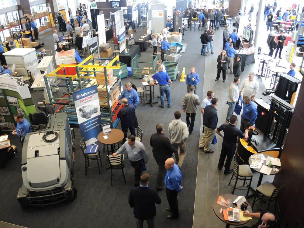 NITCO representatives showed hundred of guests the latest insight into innovation in materials handling.