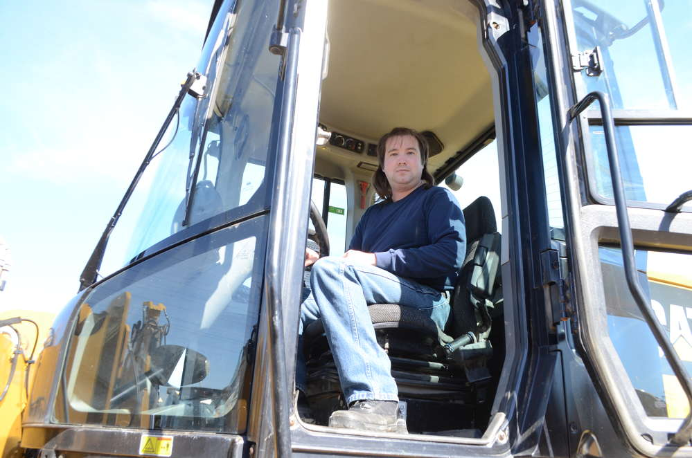 The Alban CAT-A-Thon is a great event to try out equipment, and Damian Martin, owner of HDS Excavation in Brownsville, Md., does just that.