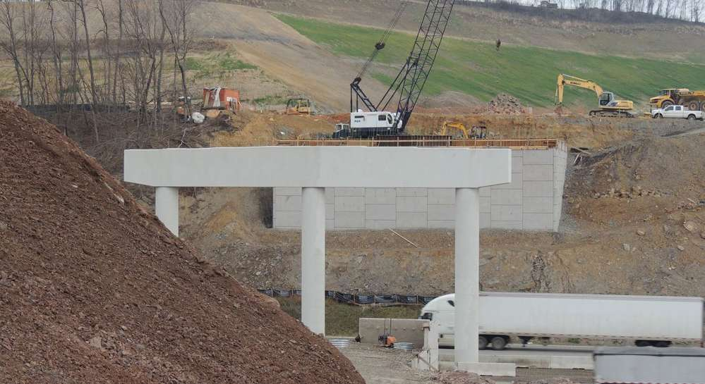 The interchange received the West Virginia Department of Transportation's (WVDOT) 2014 Engineering Excellence Award in the Large Roadway Category.