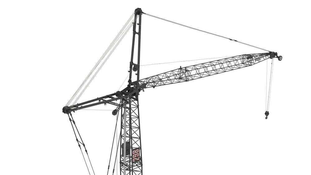 The 298 Series 2 also features a new base section and 12 in. (30.48 cm) wide boom walkway.