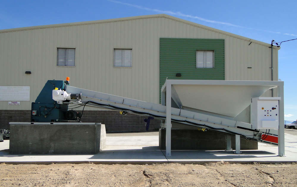 CEMCO'S glass processing plant processes about 3,500 to 4,000 lbs. per hour and is ideal for recycling glass for business districts, large casinos and municipalities.