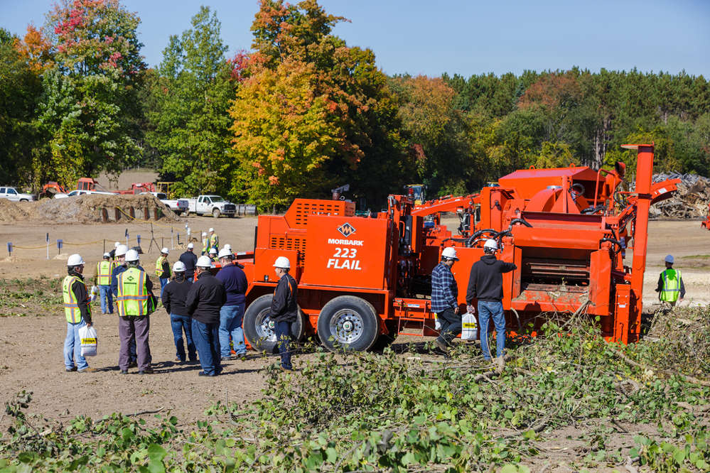 Morbark LLC welcomed about 250 customers, members of its authorized dealer network, and other guests from around the world for its 10th Demo Days event on Oct. 13 to 14.