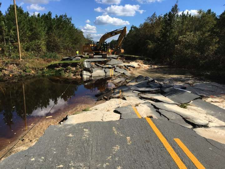 Coastal wind and storm surge are a given in any hurricane, but the amount of rain generated miles inland in North Carolina's I-95/I-40 corridor took everyone by surprise. By late October, the state estimated its flooding damage alone would exceed $1.5 billion.