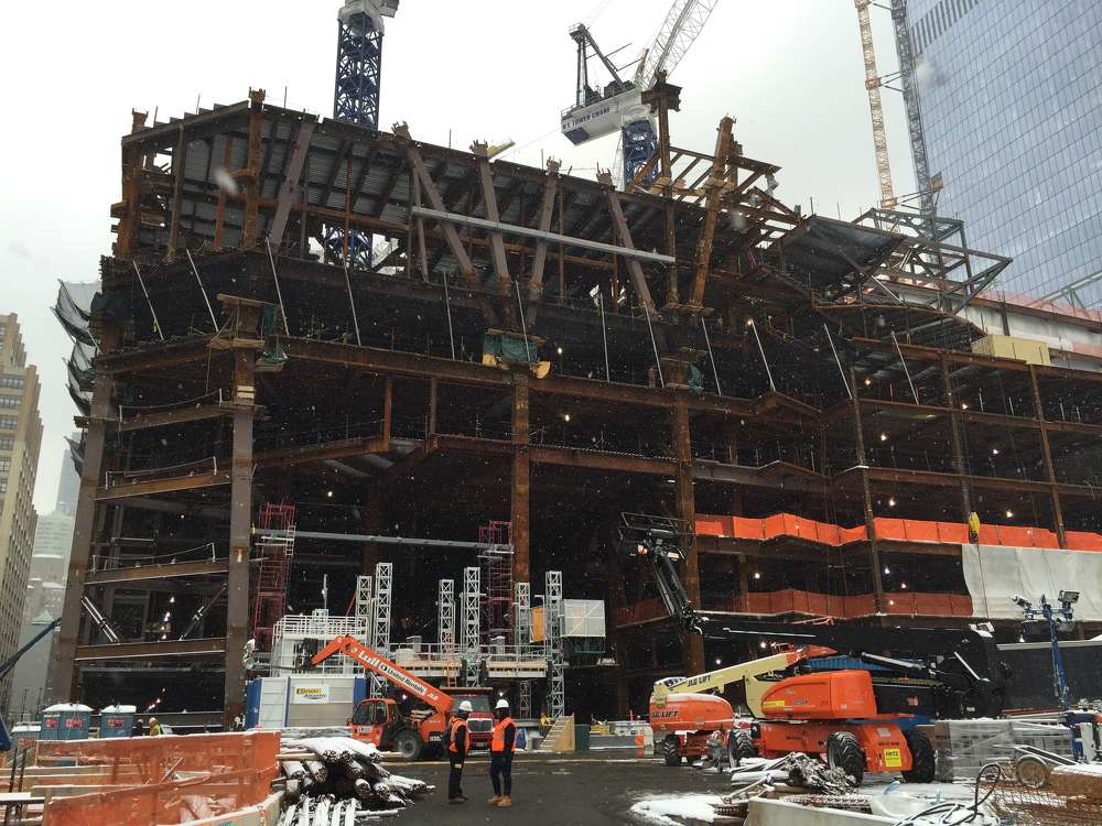 Geoff Butler photo 30 Hudson Yards is located at the southwest corner of 33rd Street and 10th Avenue and will be completed in 2019.