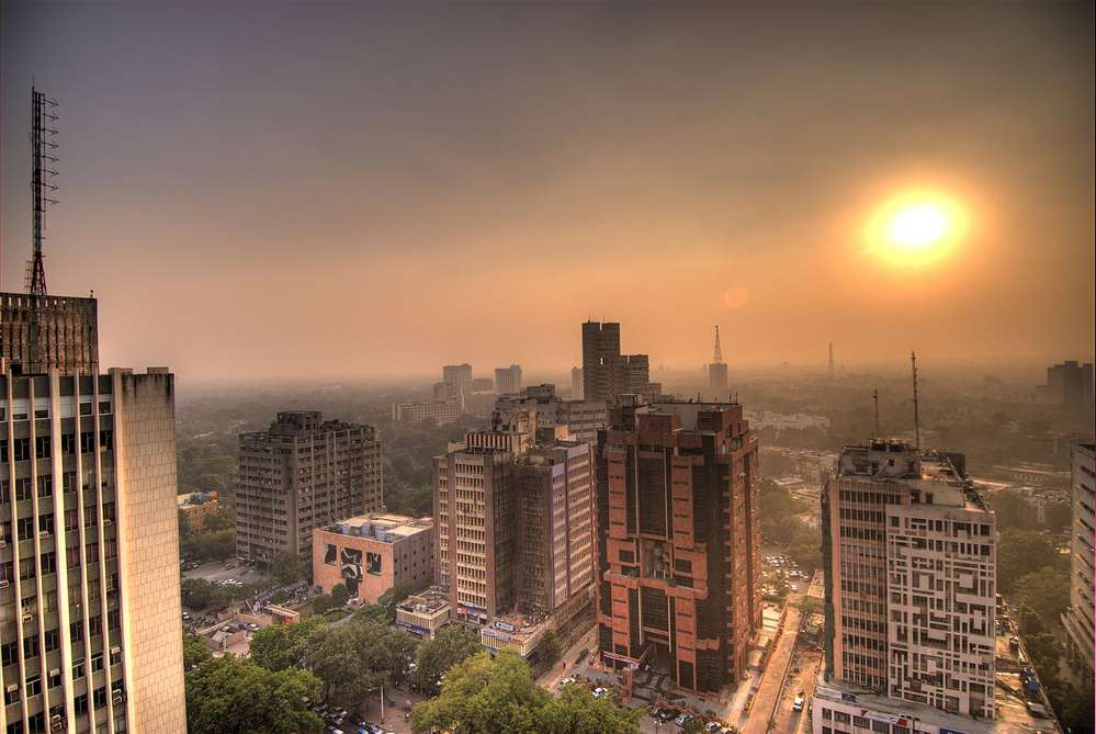 New Delhi's air pollution soars during the cooler winter months, bringing health troubles to millions, especially children and older people. Photo courtesy of Ville Miettinen.