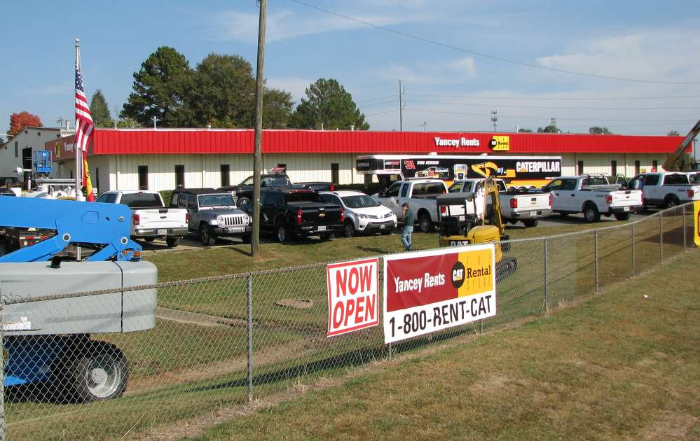 The newest Yancey Rents CAT Rental Store is now officially open in Kennesaw, Ga.